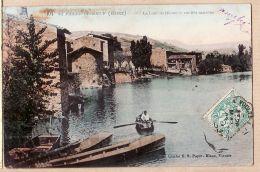 X69213 Peu Commun SAINT-PIERRE-DE-BOEUF St Rhône La LÔNE Vieilles Maisons Cliché BLANC 404 à ROGUET Rue Docks Lyon-Vaise - Other Municipalities