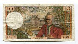 Billet De 10 F  VOLTAIRE  1970   C 632 - 1962-1997 ''Francs''