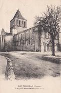 G , Cp , 16 , MONTMOREAU , L'Église Saint-Denis (XIIe S.) - Autres Communes