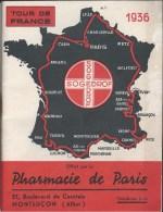 Sport Cyclisme Tour De France 1936 - Etapes Classement - Ciclismo