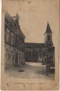 55 - SAUVIGNY - La Mairie Et L'église - Autres Communes