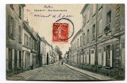 CPA  02  :  CHARLY   Rue Morlot  1909      A    VOIR  !!! - Autres Communes