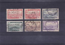 ALGERIE    1946-47  Poste Aérienne  N° 1  à  5  Incomplet  Oblitéré - Algeria (1924-1962)