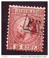 PGL - NETHERLANDS N°8 - Period 1852-1890 (Willem III)