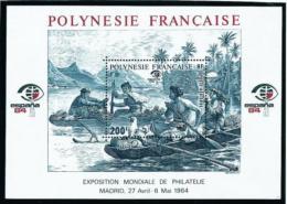 Polinesia Francesa  Nº Yvert  HB-9  En Nuevo - Blocks & Sheetlets