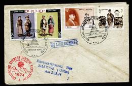 A4320) Brief Von Deutscher Everest-Expedition Nepal 18.6.1974 - Nepal