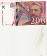 - Billet De 200 FRANCS  EIFFEL  1999 état NEUF 2 Petits Trous D'épingle - 004 - 1992-2000 Ultima Gama