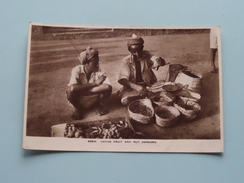 NATIVE Fruit And Nut Vendor's @ ADEN ( Abassi ) Anno 19?? ( Zie Foto Details ) !! - Yémen