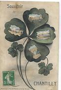CHANTILLY - Souvenir (trèfle à Quatre Feuilles) - Chantilly