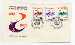 Cipro - 1972 - Busta FDC -  EUROPA - Con Doppio Annullo- (FDC1906) - Cipro