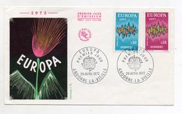 Andorra - 1972 - Busta FDC -  EUROPA CEPT - Con Doppio Annullo - (FDC1907) - Europa-CEPT