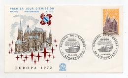Francia - 1972 - Busta FDC -  EUROPA - Con Doppio Annullo- (FDC1908) - Europa-CEPT