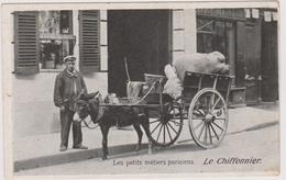 CPA - Le Chiffonnier Et Son Attelage D'âne - Les Petits Métiers Parisiens - Métiers