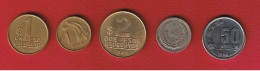 Uruguay --  Lot De 5 Monnaies - Uruguay