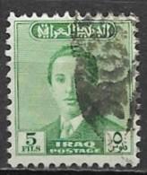 Timbres - Asie - Iraq - 1955 - 5 Fils - - Iraq