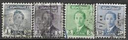 Timbres - Asie - Iraq - 1955 - Lot De 4 Timbres - - Iraq