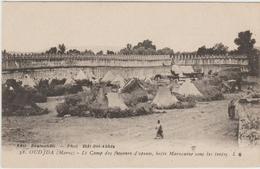 OUDJDA (MAROC) - LE CAMP DES FUMEURS D'OPIUM, BOITE MAROCAINE SOUS LES TENTES - Sonstige