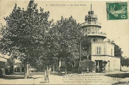 92 Hauts De Seine CHATILLON La Tour Biret Lire Le Récit  Intéréssant  Voyagée - Châtillon