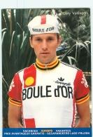 Gery VERLINDEN . 2 Scans. Cyclisme. Boule D'Or - Radsport
