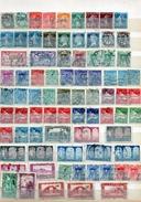 Timbres D'ALGERIE :  454 Timbres  Oblitérés - Algérie (1924-1962)