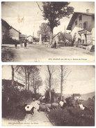 2 Cpa Chanay - Le Pâtre / Entrée Du Village - France