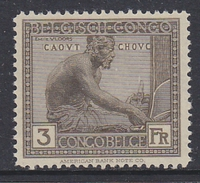 Belgisch Congo 1923 Inheemse Ambachten 3fr Mnh ** (33872) - Belgisch-Kongo