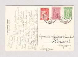 Griechenland 21.3.1913 Ansichtskarte (Taormina It.) Nach Boniswil AG - Lettres & Documents
