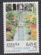 Europa Cept 2001 Spain 1v ** Mnh (33873E) - Europa-CEPT