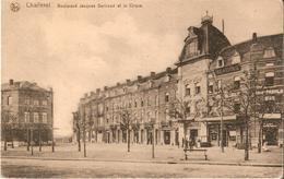 CHARLEROI (6000) : Boulevard Jacques Bertrand - Grand Cirque, Local Du Jeu De Balle Et Cave Des Vins Français. CPA. - Charleroi