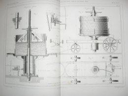 Pressoirs Hydrauliques Fixes Et Locomobiles - Viticulture - Machines