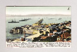 AK Gibraltar ROSIA BAY Ges Von Genova Nach Peseux NE - Gibraltar