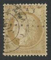France, 15 C. 1871, Sc # 56, Mi # 50, Used - 1871-1875 Ceres