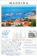 Ships, Funchal, Madeira, Portugal Postcard Posted 2007 Stamp - Madeira