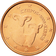 Chypre, Euro Cent, 2008, SPL+, Copper Plated Steel, KM:78 - Cyprus