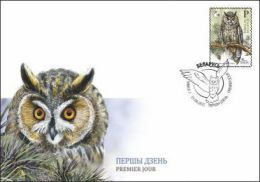 Belarus 2015 Bird Of The Year Screech Owl FDC - Bielorrusia