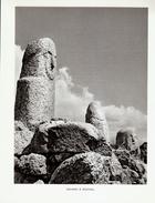 1951 - Héliogravure - Sollacaro (Corse) - Une Statue Menhir à Filitosa - FRANCO DE PORT - Sin Clasificación