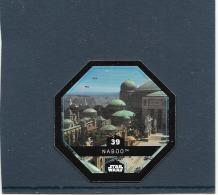 JETON 2015 COLLECTOR. STAR WARS ( LECLERC ). NABOO. N° 39 .COSMIC SHELLS - Episode II