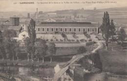 CPA - Langogne - Le Quartier De La Gare Et La Valllée De L'Allier - Le Vieux Pont D'Allier ( XVIe Siècle ) - Langogne