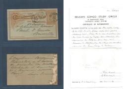Belgian Congo. 1900 (December) LADO Endave. Ibambo (black Cds) - Belgium, Bruxelles (19 March 1901) Via Leopoldville ... - Belgisch-Kongo