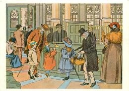 Francis D Bedford, Pa's Bank, Art Painting Postcard Unposted - Schilderijen