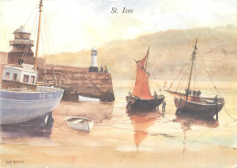 Don Austen, St Ives, Art Painting Postcard Unposted - Paintings