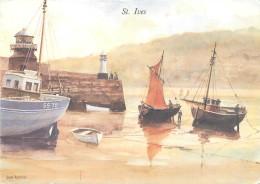Don Austen, St Ives, Art Painting Postcard Unposted - Pittura & Quadri
