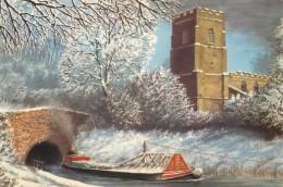 Alan Firth, Newbold Church, Art Painting Postcard Unposted - Pittura & Quadri