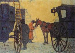 Robert Bevan, Art Painting Postcard Unposted - Pintura & Cuadros