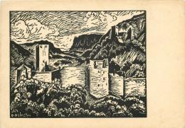 Ragimund Reimesch, Art Painting Postcard Unposted - Malerei & Gemälde