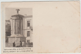 MONUMENT DI LYSSICRATE (GRECE) - Grecia