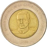 Dominican Republic, 10 Pesos, 2008, TTB+, Bi-Metallic, KM:106 - Dominicaine