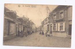 St. Amands  Borgstraat  -  Rue Borg  -  DRUKKERIJ - Sint-Amands
