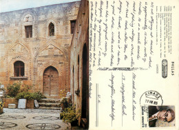 Lindos,  Rhodes, Greece Postcard Posted 1983 Stamp - Grecia