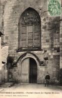 FONTENAY LE COMTE -85- PORTAIL OUEST DE L'EGLISE ST JEAN - Fontenay Le Comte